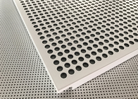 Akzo Nobel Powder Coated Matt White Finished Aluminium Suspended Ceiling Tiles