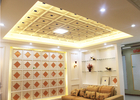 Interior Decorative Ceiling Panels Artistic for Living Room , SGS Test