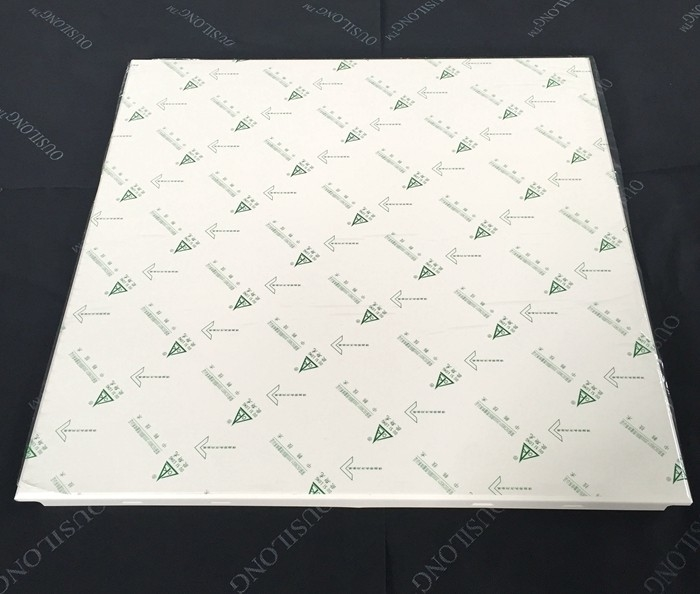600 X 600mm Plain Metal Rustproof Aluminum Ceiling Tiles Clip In False Ceiling Panel