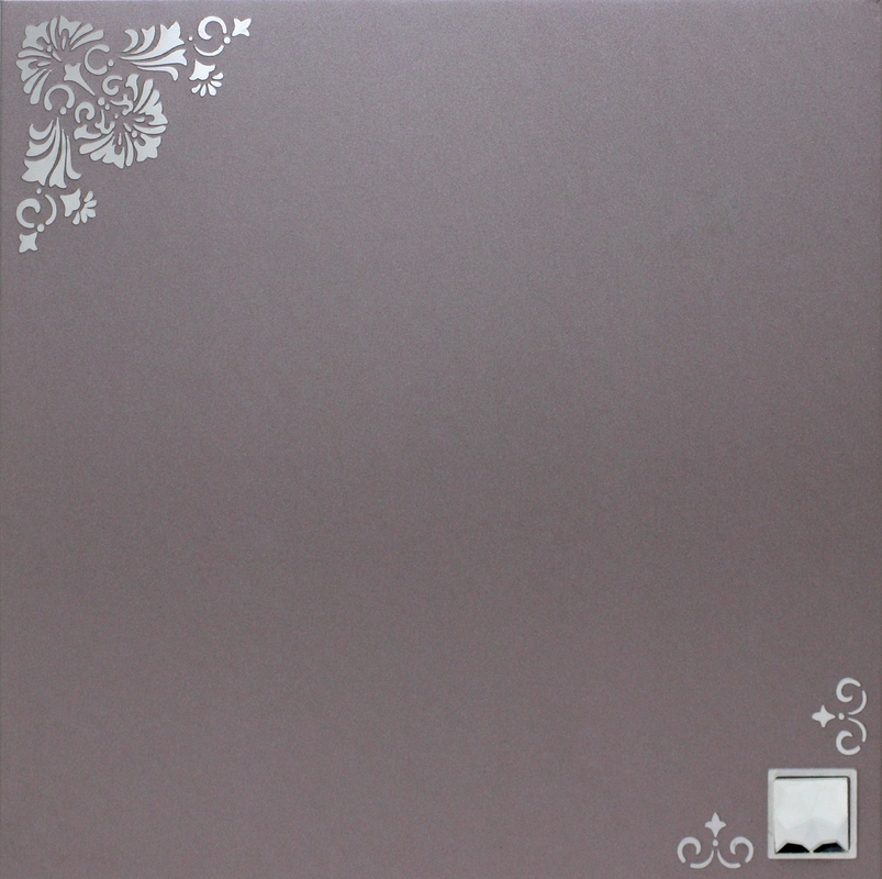 300mm x 300mm Decorating Artistic Ceiling , Commercial Metallic Ceiling Tile for bathrooms