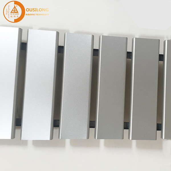 Suspended Metal Strip U-aluminum Profile Screen Ceiling For Residential