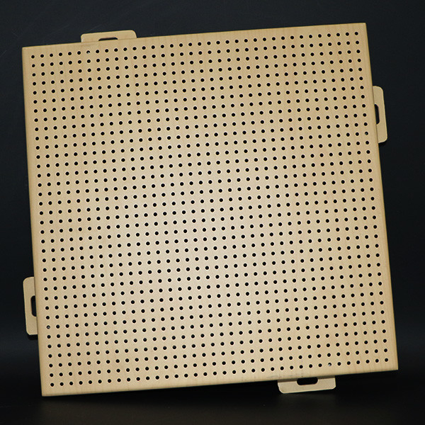 Building Exterior Facade Decoration Perforated Aluminum Wall Panel With 10 Years Warranty