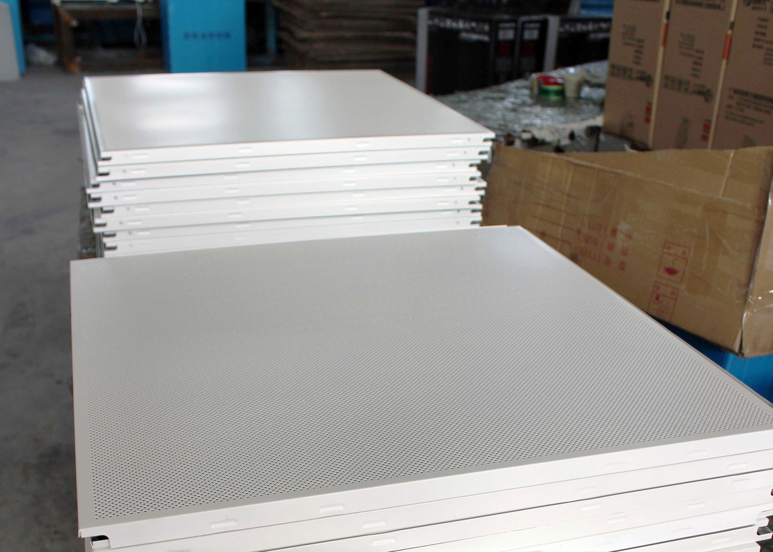 High End Steel Perforated Acoustic Ceiling Tiles for Lay on Suspend Ceiling