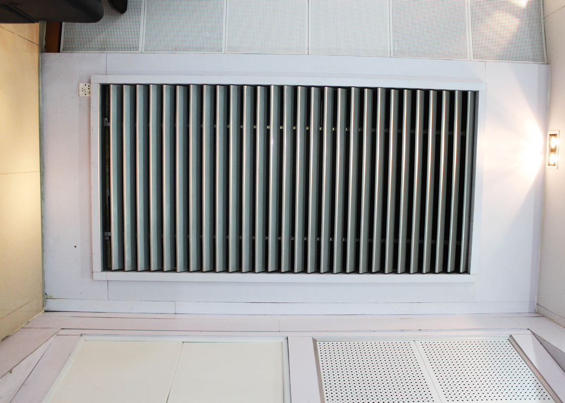 Sunlight Blocking Aluminum Sun Shade System , Building Decoration Material