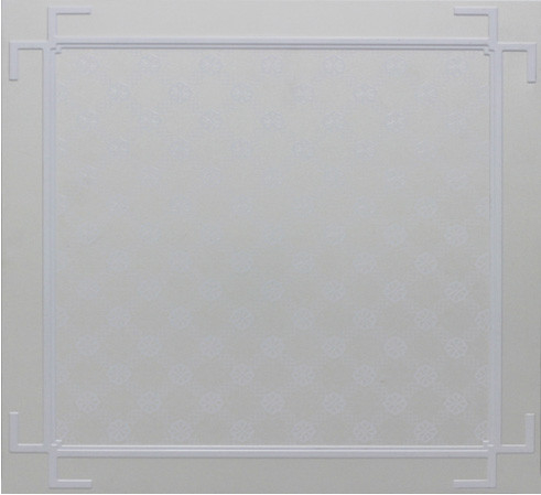 0.6 mm Hotel Artistic Ceiling Tile Aluminum With Foreign UV Coating